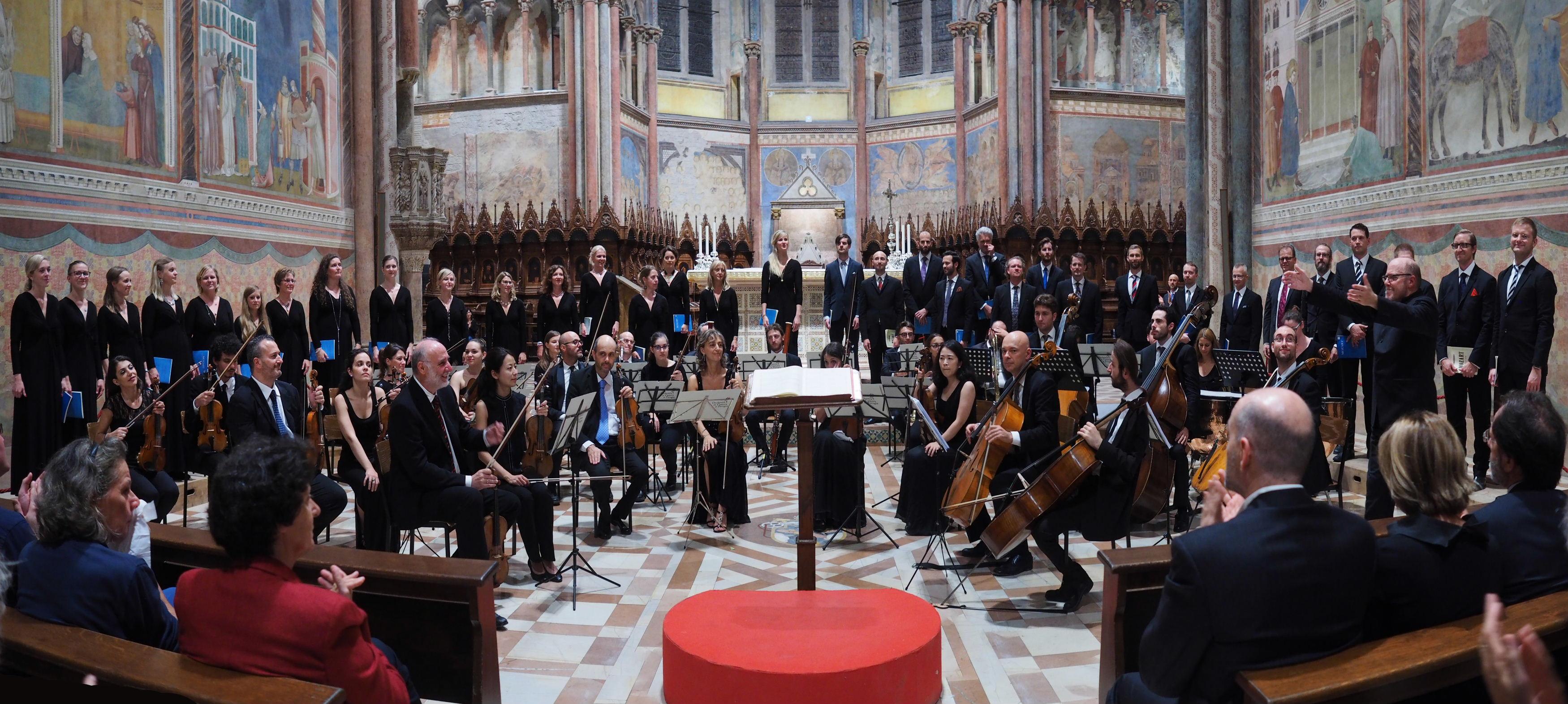 Basilica Papale di San Francesco in Assissi 2016 Mozart Requiem