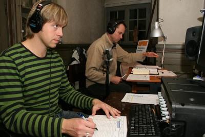 Böhm och ljudtekniker