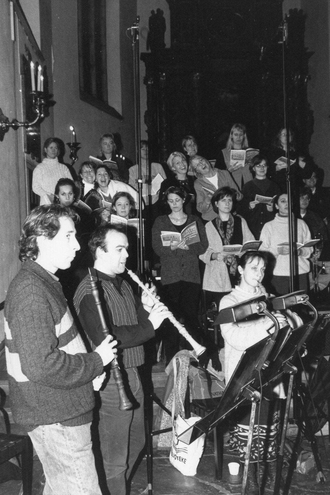 Inspelning Haydn 8